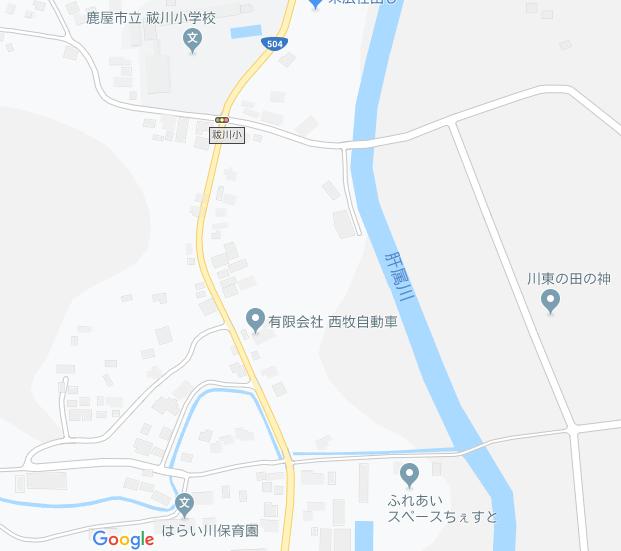 ちぇすと地図